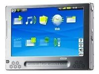 Archos PVR, records video and audio , portable tablet, stainless steel with speakers