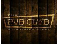 18-30s pub club!