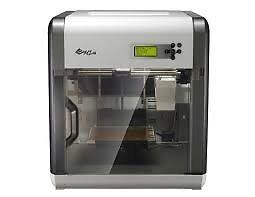 3D printer DaVinci 1.0 XYZprinting little used + red ABS cartridge half price