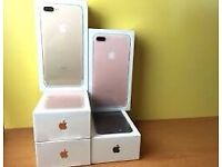 apple iPhone 7+Plus 128gb unlocked brand new condition APPLE WARRANTY warranty