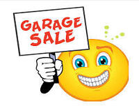 Fall Garage Sale - Everything Needs to Go!