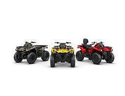 STOCK CLEARANCE: Brand new Can-Am Outlander 570/650 base/Pro/XT Taminda Tamworth City Preview