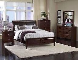 Queen size 6 piece bedroom room set from Ashley's