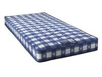 Brand New Comfy Single Padded Spring Mattress,Factory Sealed FREE Delivery 2 Available