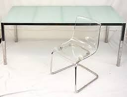 Glass Top Ikea Torsby Dining Table