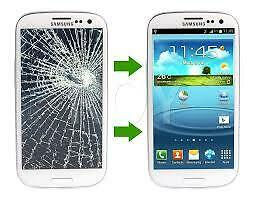 Samsung Note 2 3 4 S3 S4 S5 S6 s7 s8 scracked screen LCD Repair★