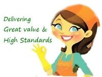 MAID GENIES Eco-friendly Domestic Cleaning Service with an insured operative at a competitive price.