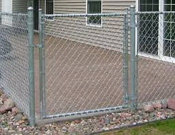 Need a chain link fence and install