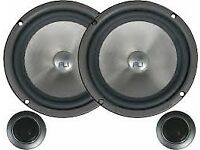 "fli 6 components 6"" car audio speakers new in box"