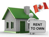 Why rent when you can Rent to Own!!