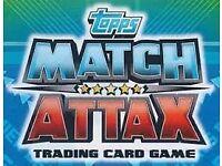 match attax premier league 16/17 for swaps or sale