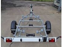 WANTED FACTORY BOAT TRAILER AND BOAT COVER SUITABLE FOR 19FT SHEELIN LAKE BOAT.