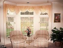 Custom Blinds and Valance Swags