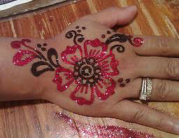 Glitter Henna ,White Henna,Black Henna ,Colored Henna Available Kitchener / Waterloo Kitchener Area image 6