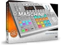 Maschine Studio White, used in home only, boxed with 3 expansions...