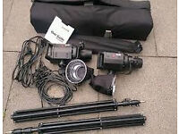 Bowens gemini gm400 - hardly used with modifiers