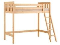 wanted. High sleeper / Loft bed / Bed with desk