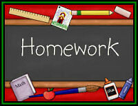 Homework solutions for students!