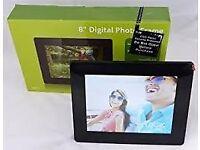 "8"" 16GB Logik digital picture frame boxed and unused"