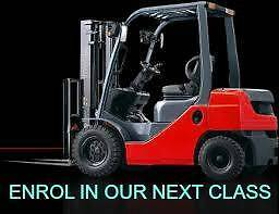 FORKLIFT TRAINING from $400