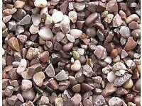 20mm Staffordshire Pink Gravel