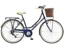 Viking bycicle dark blue barely used