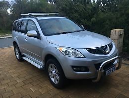 2011 Great Wall X240 4WD **12 MONTH WARRANTY** West Perth Perth City Area Preview