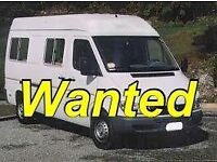 T5 campervan wanted up to 10k cash