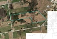 135 acres. Huge investment potential, borders Mount Forest