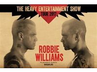 2x Robbie Williams Tickets 2nd June WITH COACH