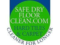 Safe Dry Carpet & Hard Floor Cleaning Service.