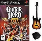 [PS2] Guitar Hero Aerosmith Incl. NIEUW Gitaar + Receiver