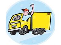 House Flat Office Removal Van & Man Hire Piano Mover Luton Delivery 2/3 Men Rubbish Waste Clearance
