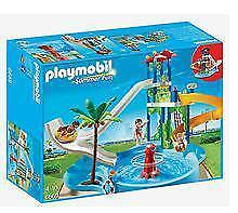 Tradewind Toys PLAYMOBIL Water Park with Giant Slides (6669)