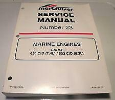 Mercruiser service manual 25 | carburetor | throttle.