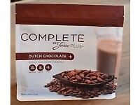 Juice Plus Dutch Chocolate Powder - 4 bags unopened