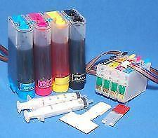 Bulk Ink System, CISS for Epson 4-color printers+400ml Ink