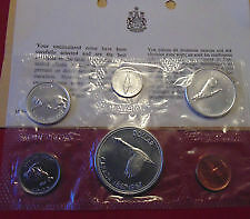 1967 SILVER Canada FACTORY SEALED  6 COIN SET ONLY 55$ London Ontario image 2