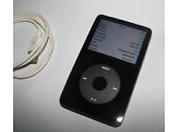 Apple ipod classic in black 5th generation