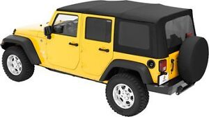JEEP JK LIKE NEW Soft Top - OEM Stored in doors since 2009