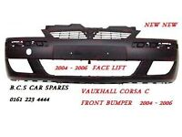 CORSA C FRONT BUMPER NEW NEW 2003 2004 2005 2006 READY TO PAINT