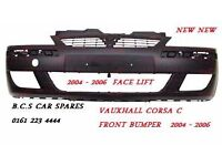 CORSA C FRONT BUMPER NEW NEW 2005 2006 READY TO PAINT