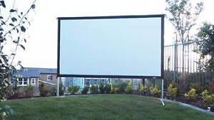 Outdoor Movie Projector Cinema Screen Hire Brisbane Brisbane City Brisbane North West Preview