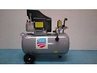 Brand new 50 litre Air Compressor and comes free with 5pcs Spraying Kit worth £25.