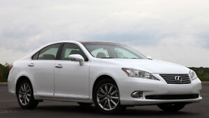 Looking for 2010 to 2012 Lexus ES 350 in white