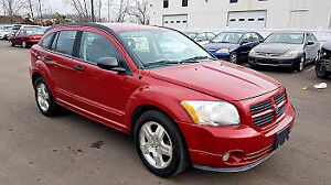 2007 DODGE CALIBER SXT  FULLY CERTIFIED ONE OWNER VERY LOW KM 