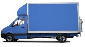 MAN AND VAN 24/7 LARGE LUTON VAN with TAILIFT best Price ALL IN UK