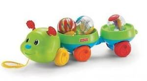Fisher Price Pull & Spin Caterpillar Pull Toy  - East Brisbane Brisbane South East Preview