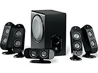Logitech home theatre 5.1 sound excellent condition