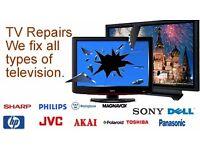 Digital Tv Repair - Free Pick up and drop off